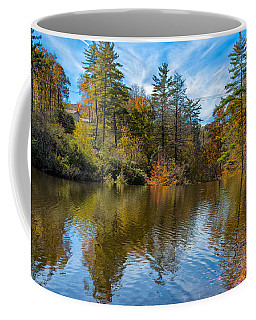 Harris Lake In Autumn Coffee Mug