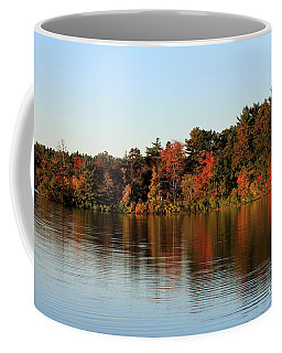 Hart Pond Golden Hour Coffee Mug