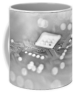 Hartddrive High Key Black And White Coffee Mug