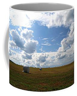 Harvest Blue  Coffee Mug by Neal Eslinger