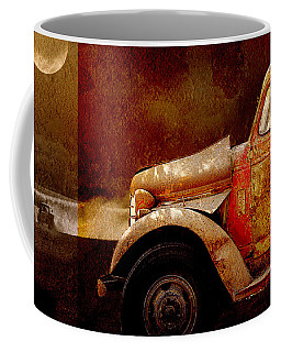 Coffee Mug featuring the photograph Harvest Moon by Holly Kempe