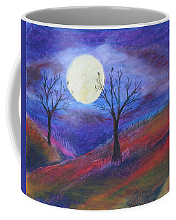 Harvest Moon 3 Coffee Mug by Jeanne Fischer