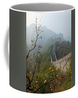 Harvest Time At The Great Wall Of China Coffee Mug