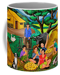 Harvest Time Coffee Mug by Cyril Maza