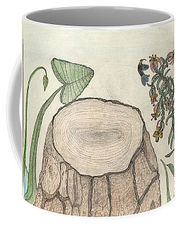 Coffee Mug featuring the painting Harvested Beauty by Kim Pate