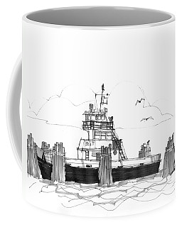 Hatteras Ferry Coffee Mug