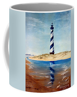 Hatteras Lighthouse Coffee Mug by Lee Piper