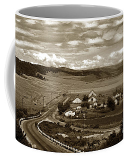 Hatton Ranch Carmel Valley From Highway One California  1940 Coffee Mug
