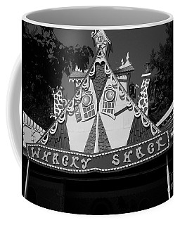 Coffee Mug featuring the photograph Haunted House by Michael Krek