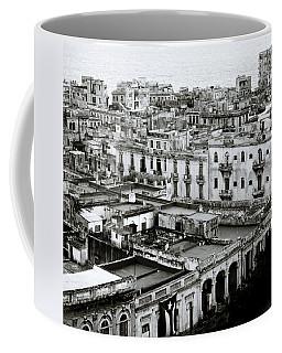 Havana City Coffee Mug by Shaun Higson