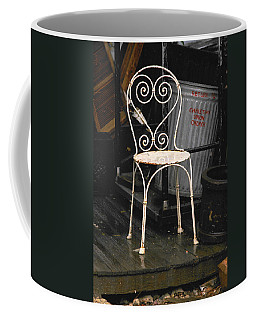 Coffee Mug featuring the photograph Have A Seat by Ira Shander