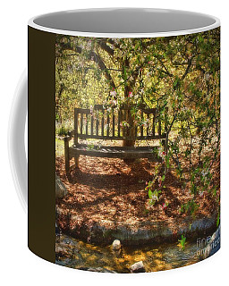 Have A Seat Coffee Mug by Peggy Hughes