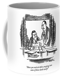 Have You Noticed Ethics Creeping Into Some Coffee Mug