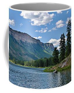 Coffee Mug featuring the photograph Haviland Lake by Janice Rae Pariza