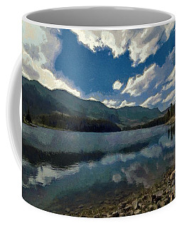 Haviland Lake Coffee Mug by Jeff Kolker