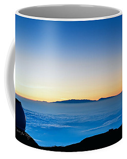 Coffee Mug featuring the photograph Hawaii Sunset by Jim Thompson