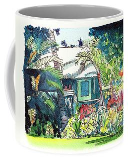 Hawaiian Cottage 3 Coffee Mug by Marionette Taboniar
