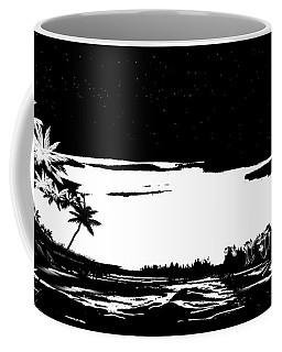 Hawaiian Night Coffee Mug by Anthony Fishburne