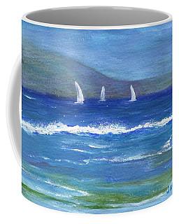 Hawaiian Sail Coffee Mug by Jamie Frier