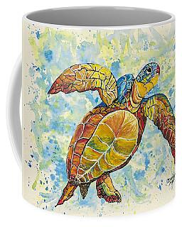 Hawaiian Sea Turtle 2 Coffee Mug by Darice Machel McGuire