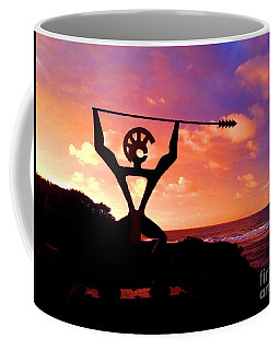 Coffee Mug featuring the photograph Hawaiian Silhouette by Kristine Merc