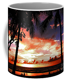 Coffee Mug featuring the photograph Hawaiian Sunset by Kristine Merc