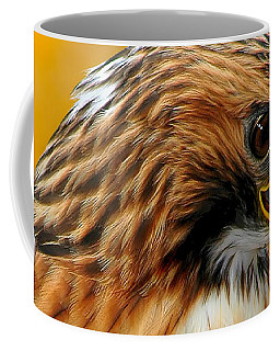 Hawk Hunt Coffee Mug by Adam Olsen