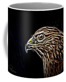 Hawk Coffee Mug by Ludwig Keck