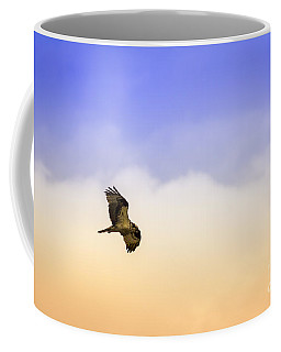 Hawk Over Head Coffee Mug