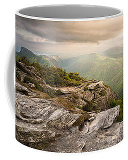 Hawksbill Mountain Sunset Coffee Mug