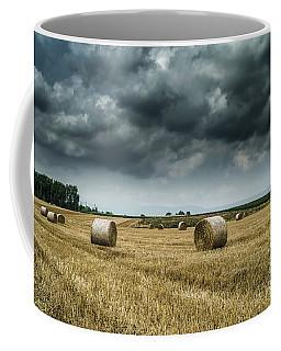 Hay Rolls Coffee Mug by Michelle Meenawong