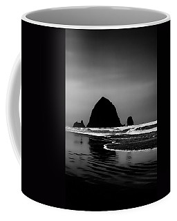 Haystack Rock On Cannon Beach Coffee Mug by David Patterson