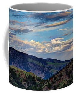 Haze Overlooking Holter Coffee Mug