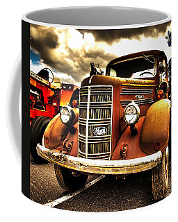 Hdr Fire Truck Coffee Mug