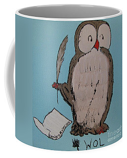 He Can Write And Read Coffee Mug