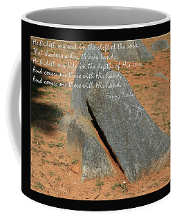 He Hideth Me In The Cleft Fanny Crosby Hymn Coffee Mug