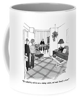 He Walked Coffee Mug