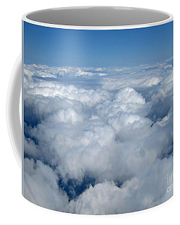 Head In The Clouds Art Prints Coffee Mug by Valerie Garner