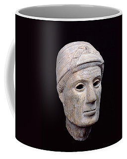 Head Of An Old Woman, From Cerveteri Clay Coffee Mug