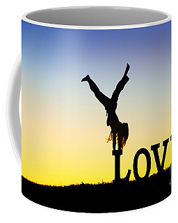 Head Over Heels In Love Coffee Mug