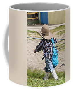 Heading For The Chute Coffee Mug