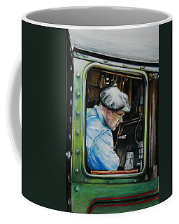 Heading Home On The Severn Valley Railway  Coffee Mug by Jean Cormier