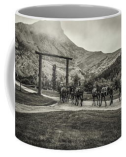 Heading Into The Mountains Coffee Mug