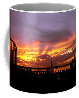 Headlights Of Sunset Coffee Mug