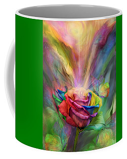 Healing Rose Coffee Mug by Carol Cavalaris