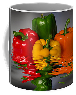 Healthy Reflections Coffee Mug by Shane Bechler