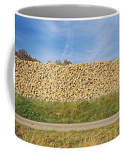 Heap Of Sugar Beets In A Field Coffee Mug