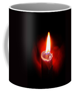 Heart Aflame Coffee Mug by Sennie Pierson