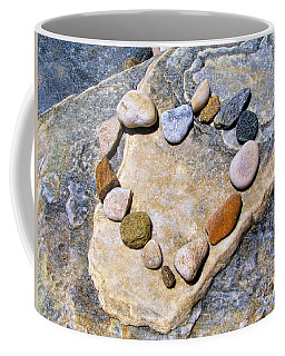 Heart And Stones  Coffee Mug