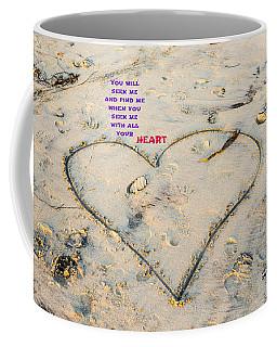 Heart And Words Coffee Mug